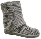 "UGG Cardy"" Grey Crochet Boot"