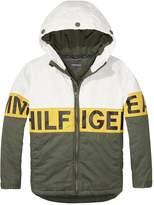 Tommy Hilfiger Boys Logo Hooded Jacket