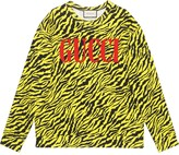 Gucci Oversize sweatshirt with zebra print