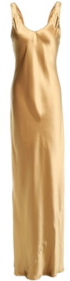 Nili Lotan Silk-satin Maxi Dress