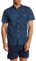 Saturdays Surf NYC Bruce Reflection Print Shirt