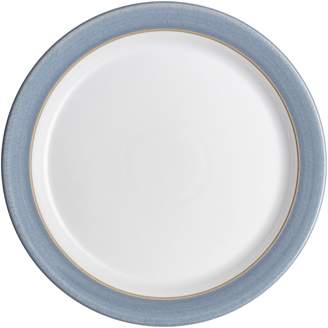 Denby Natural Denim Stoneware Coupe Salad Plate