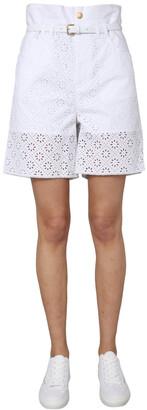 Philosophy di Lorenzo Serafini Lace Trimmed Shorts