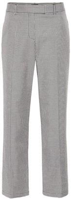 A.P.C. Cece checked cotton-blend pants