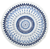 The Beach People Majorelle Round Beach Towel
