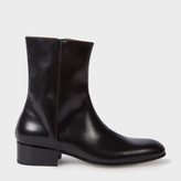 Paul Smith Men's Black Calf Leather 'Bardo' Boots