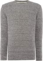 Barbour Men's Mid weight space dye crew neck jumper
