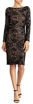 Lauren Ralph Lauren Sequin Sheath Dress