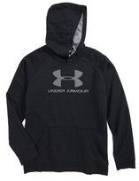 Under Armour Boy's Sportstyle Logo Pullover Hoodie