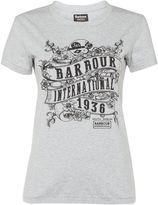 Barbour international riser tee