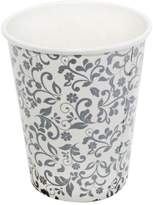 East Majik Beautiful Flower Pattern Disposable Paper Cups for Home or Office