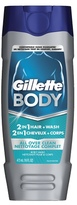 Gillette 2 in 1 Body Wash