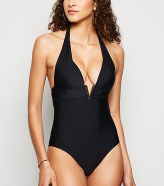 New Look 'Lift & Shape' V Front Swimsuit
