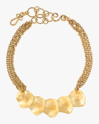 Stephanie Kantis Raincatcher Gold Necklace