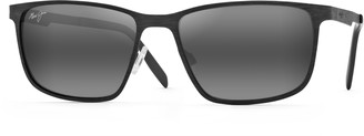 Maui Jim Cut Mountain 55mm Polarized Sunglasses