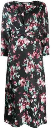 L'Autre Chose Kimono Style Sleeve Dress
