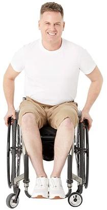 IZ Adaptive Seated Shorts Elastic Waist (Tan) Men's Clothing
