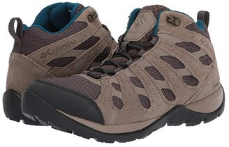 Columbia Redmondtm V2 Mid Waterproof (Mud/Lagoon) Women's Hiking Boots