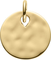 Monica Vinader Ziggy 18ct yellow-gold vermeil round pendant