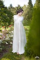 "Etsy Marquisette Chemise ""Found Princess""; underwear chemise; white chemise"