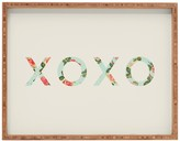 DENY Designs Allyson Johnson Floral XOXO Tray