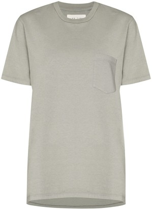 LES TIEN patch-pocket crew-neck T-shirt