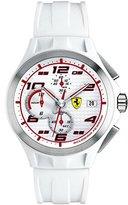 Ferrari Men's 830016 Analog Display Japanese Quartz White Watch