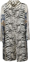 Pierre Louis Mascia Pierre-Louis Mascia Zebra-skin Effect Shirt Dress
