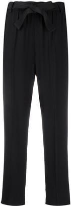 Moncler High-Waisted Cropped Trousers