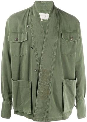 Greg Lauren Loose Fit Military Jacket
