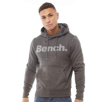 Bench Mens New York Hoodie Charcoal Marl