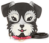 Betsey Johnson Fritzy Glitter Dog Cross-Body Clutch
