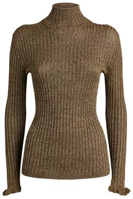 Ralph Lauren Metallic Rollneck Sweater