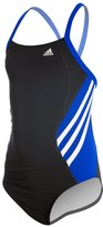 adidas Youth Solid Splice Vortex Back One Piece Swimsuit 8141851