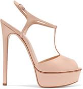 Casadei Patent-leather platform sandals