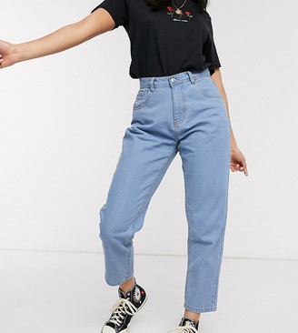 Wednesday's Girl mom jeans in light wash