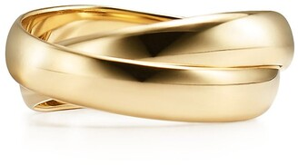 Tiffany & Co. Paloma's Melody two-band ring in 18k gold - Size 7