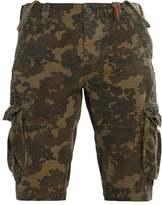 Superdry Core Shorts Green Leopard Camo