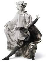 Lladro Porcelain Figurine Venetian Carnival Re Deco