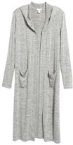 Caslon Women's Hooded Knit Duster