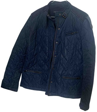 French Connection Navy Cotton Jacket for Women