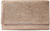 Jessica McClintock Nora Printed Straw Envelope Clutch Clutch Handbags