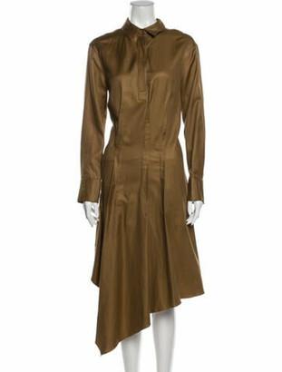 Brunello Cucinelli Long Dress Brown