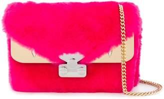 Fendi Bag Bugs goat-fur shoulder bag