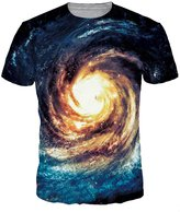 Haloon 3D Realistic Digital Printed Crewneck Short Sleeve T-shirts For Womens