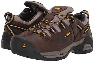 Keen Detroit XT Int. Met Steel Toe (Cascade Brown/Goldenrod) Women's Work Boots