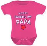 TeeStars - Happy Father's Day Papa Bodysuit Gift for Grandpa Cute Baby Onesie