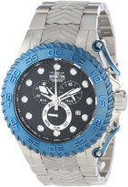 Invicta Men's 12942 Pro Diver Chronograph Textured Dial Stainless Steel Watch