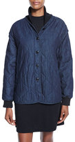 Rag & Bone Addison Quilted Denim Jacket, Indigo
