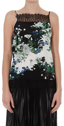 Givenchy Lace Detail Camisole Top